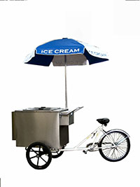 Worksman Italian Ice Tricycle Made in the USA